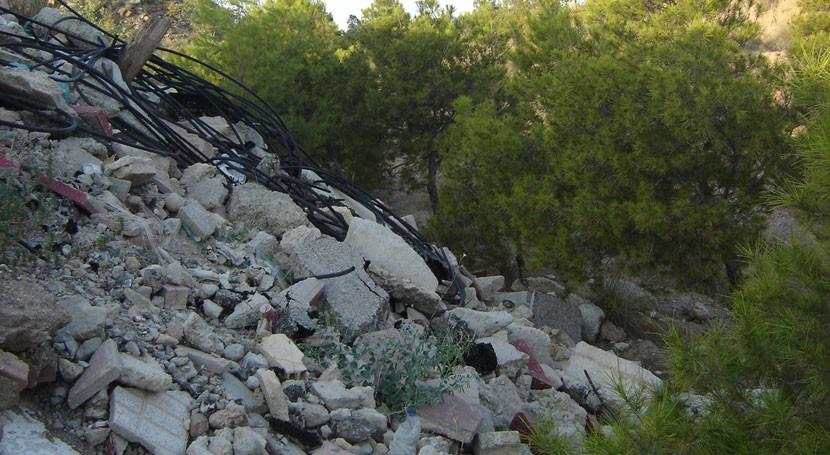 juicio ex alcalde Blanca vertedero ilegal zona protegida