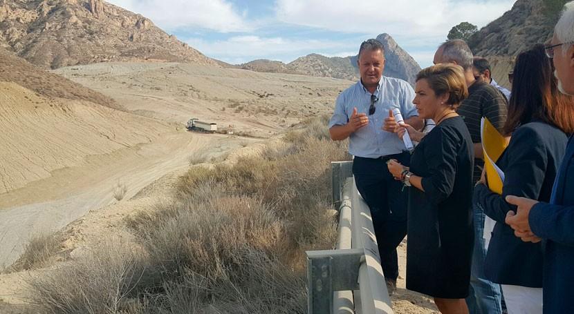 trabajos emergencia vertedero Proambiente Abanilla concluirán diciembre