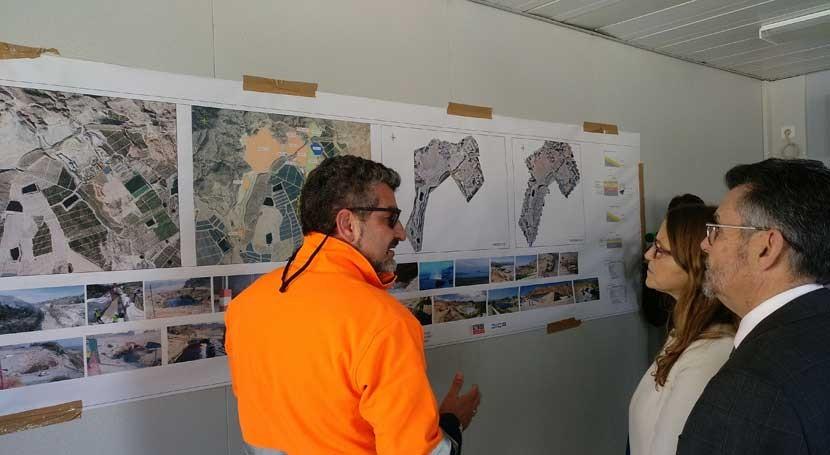 obras sellado antiguo vertedero Murada finalizarán aproximadamente abril
