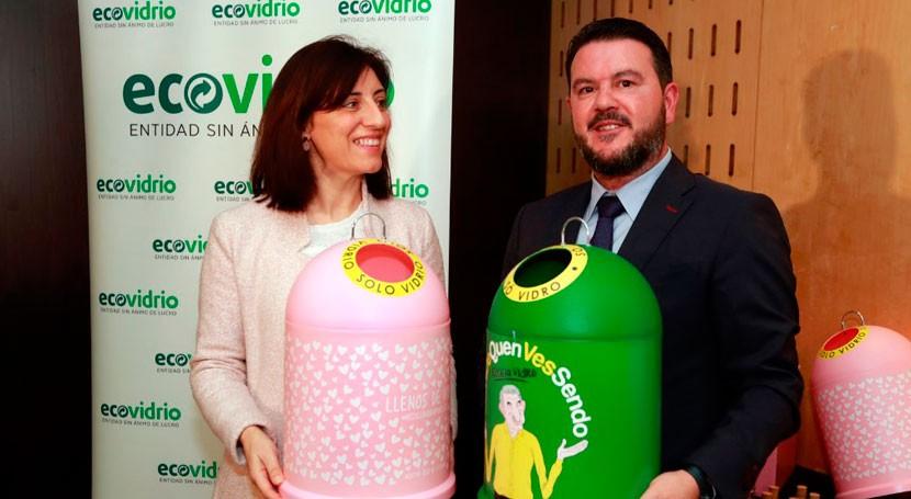 Galicia recicló pasado año total 48.308 toneladas vidrio