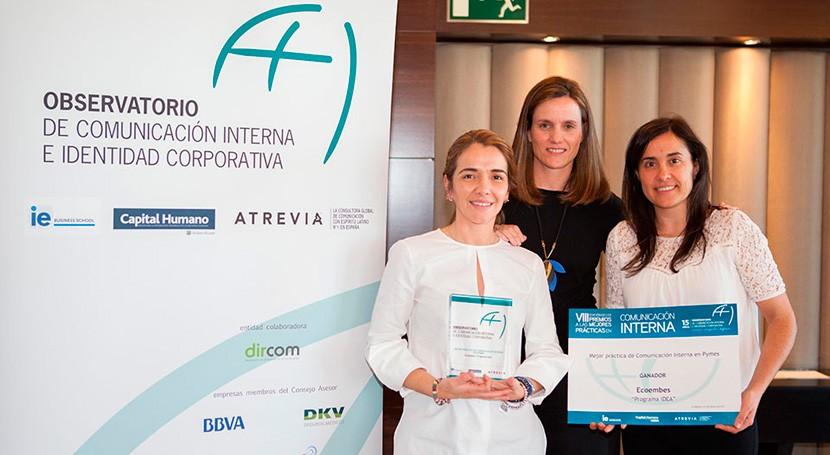 Ecoembes, galardonada VIII Premios Mejores Prácticas Comunicación Interna
