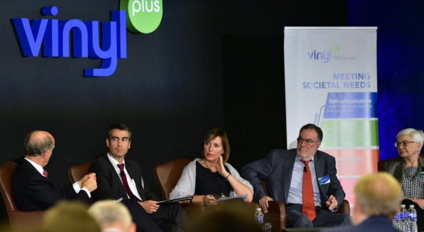 VinylPlus Sustainability Forum 2018: 640.000 toneladas PVC reciclado 2017