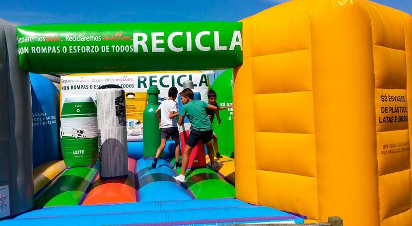 campaña gallega reciclaje, también Vuelta Ciclista España