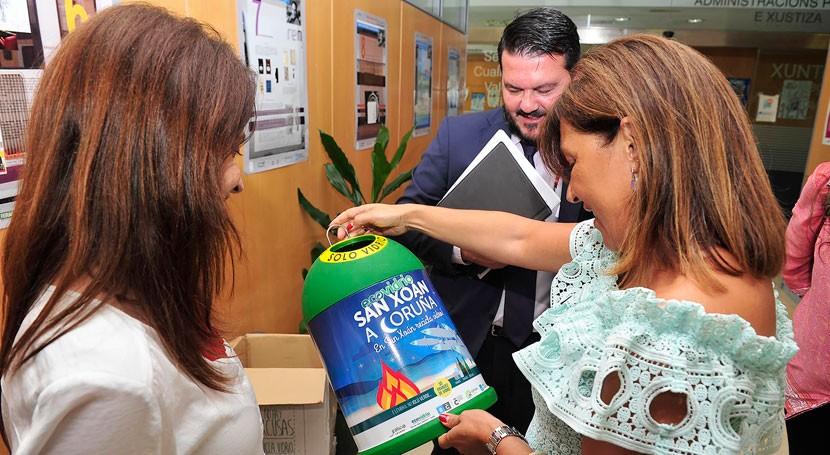 Galicia lanza campaña eventos sostenibles mejorar cuotas reciclaje