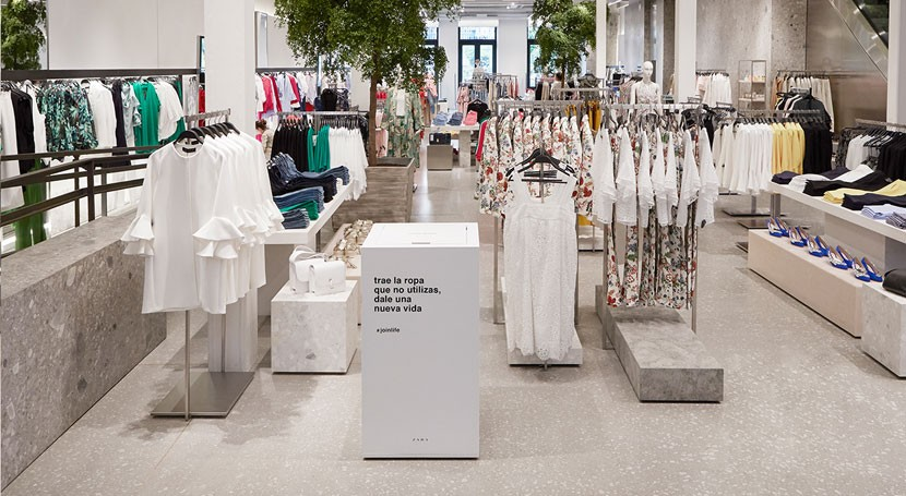Zara, ropa que ya no se utiliza tiene segunda vida